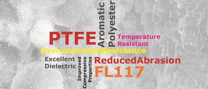FL117 - High Temperature Aromatic polyester Filled PTFE