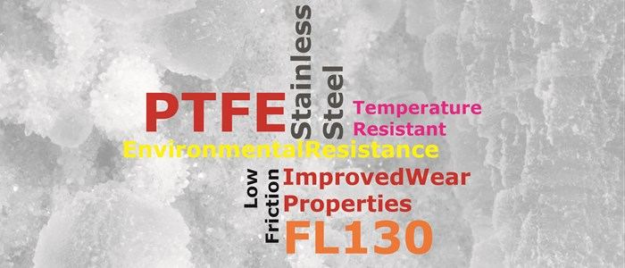 FL130 - Stainless Steel Filled PTFE