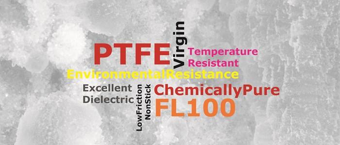 Fluorinoid FL100: Virgin 100% PTFE TO BS EN ISO 13000