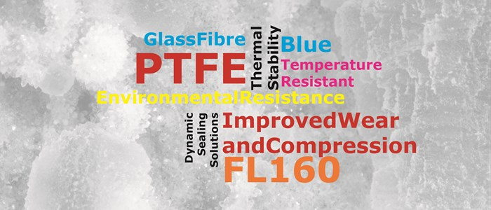 FL160 - 30% Glass Fibre and Complex Salts Filled PTFE