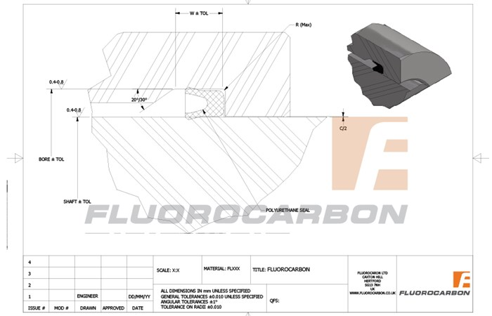 High performance sealing solutions from Fluorocarbon, in a